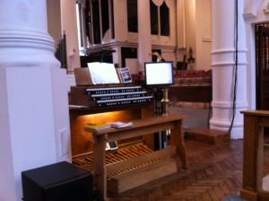 Organ Installed
